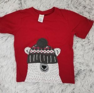 Gymboree  Boys Short Sleeve Winter Shirt